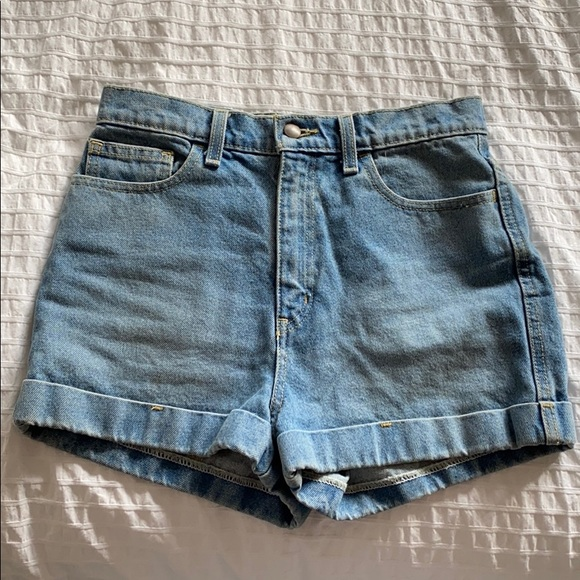 American Appareal Jean Shorts 28